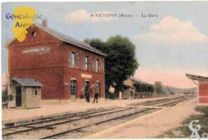 la gare - Contributeur : Colette Brille