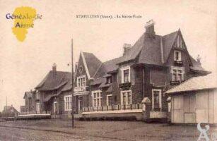 La mairie-école - Contributeur : M.Séverin