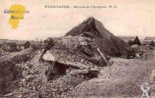 Ruines de l'hospice - Contributeur : M.Séverin