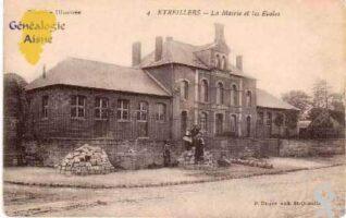 La mairie et les écoles - Contributeur : M.Séverin