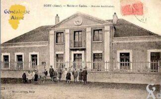 Mairie et Ecoles (don des Américains) - Contributeur : T.MArtin
