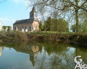 L'église - Photo : René Hourdry