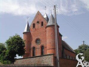 L'église fortifiée - Photo : G.Destré