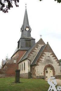L'église - Photo : Michel PLATEAUX