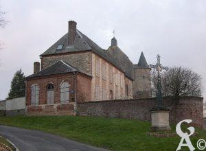 Le presbytère attenant à l'église - Photo : Sébastien Sartori