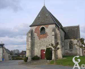 L'église <br> Photo:M.Nivelet