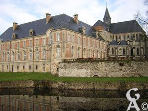 L'abbaye <br>Photo : J.Billard