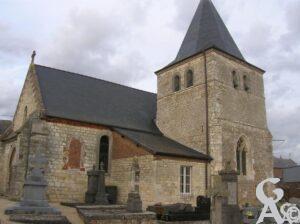 L'église - M.Nivelet