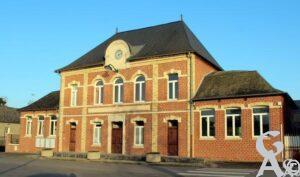 Mairie - Ecole communale. A. Demolder