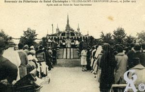Souvenir du pèlerinage de saint Christophe, 25 juillet 1927- Laurent Colas