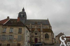 Église du XVIIe siècle, classée aux monuments historiques depuis le 10 janvier 1920. Photo : Maryse Trannois