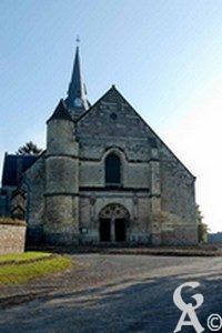 l'église - Monique Lens