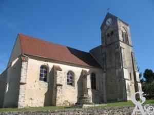 L'église Saint-Quentin - Gérard Cresseaux