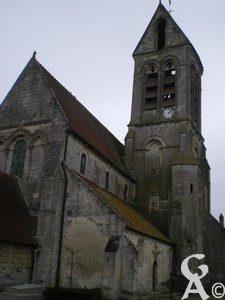 l'église - Maryse Trannois