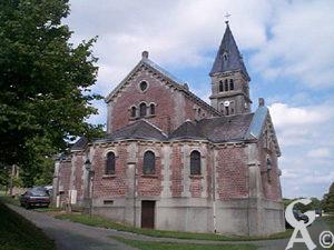 Le chevet de l'église-Photo : M. Trannois