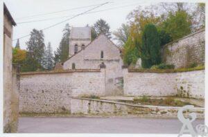 Eglise et cimetière - Pierre Cliquot