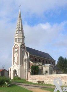 L'église - Photo : Marilyne Nivelet