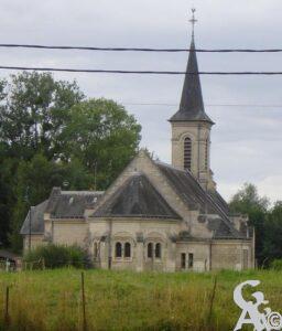L'église - Sylviane LESSERTISSEUR-RENOUF