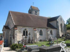 L'église - Gérard Cresseaux