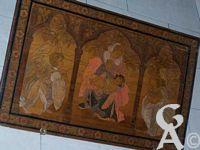 L'église - Tableau dans le chœur