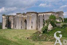 Fortifications et Château - Vue du château