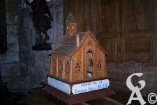 L'église - Une maquettte de l'église