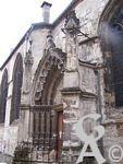 L'église - Porte latérale