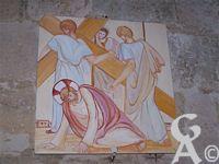 L'église - Le chemin de croix du Christ