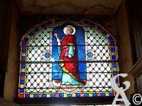 L'église - Un vitrail
