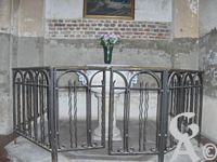 L'église - Les fonts bâptismaux