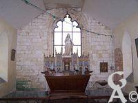La chapelle de Fay le Noyer - L'autel