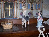 La chapelle de Fay le Noyer - La crêche