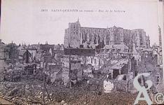 La Basilique en ruines - Ruines, rue de la Sellerie