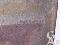 L'église - Fresque du porche