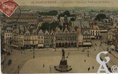 La Place de l'Hôtel de Ville dans le passé - L'Hôtel de Ville, la Grand' Place.