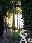 La maison Pommery - Grille du cimetière