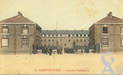 La caserne dans le passé - La Caserne d'Infanterie.
