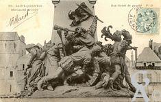 Le monument de 1557 - Monument de 1557 - Bas relief de gauche.