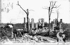 La Guerre - Les ruines du Château.