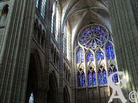 La cathédrale - Le croisillon nord