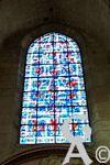 La cathédrale - Précieux vitraux