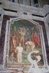 La cathédrale - Une fresque