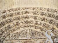 La cathédrale - Tympan