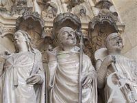 La cathédrale - Statues
