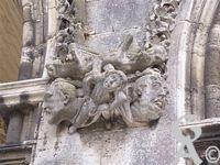La cathédrale - Détails de sculpture