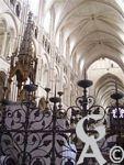 La cathédrale - Détails de ferronnerie