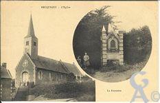 Le passé - L'église et la fontaine