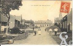 Le passé - La place de Becquigny
