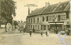 Le passé - La Place du marché
