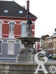 Les monuments de St Quentin - La fontaine aux 3 filles.